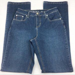 Merona Dark Blue Boot Cut Jeans, size 2L